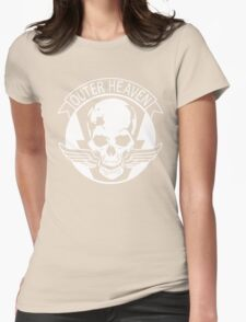 Metal Gear Solid - Outer Haven Womens Fitted T-Shirt