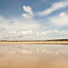 Beach Clouds, Brittany - France by Joshua McDonough Photography