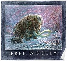 Free Woolly Mammoths from Ice Age Poster