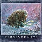 Ice Age Woolly Mammoth Perseverance  by MudgeStudios