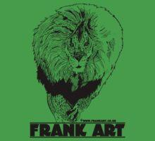 Light Lion T-Shirt by Frank Louis Allen (frankart.co.uk)  Kids Tee