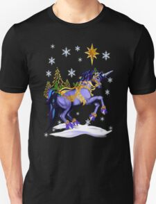 Bright Christmas Unicorn T-Shirt