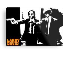 Larry David Pulp Fiction Metal Print