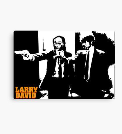 Larry David Pulp Fiction Canvas Print