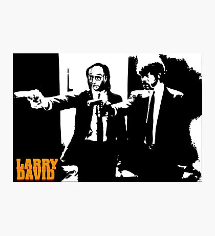 Larry David Pulp Fiction Photographic Print