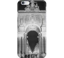 Rua Agusta Arch Lisbon BW iPhone Case/Skin