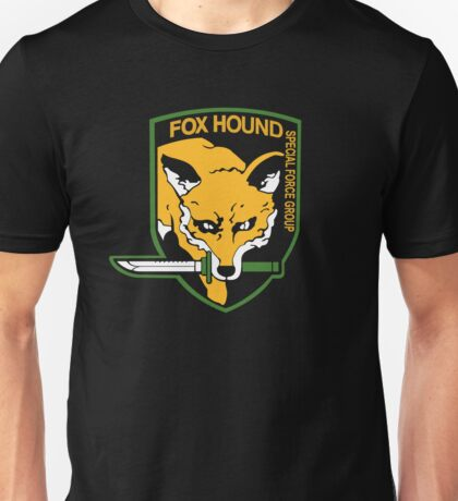 Metal Gear Solid - Fox Hound Unisex T-Shirt