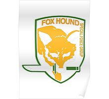 Metal Gear Solid - Fox Hound Poster
