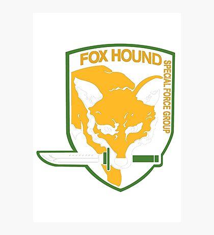 Metal Gear Solid - Fox Hound Photographic Print