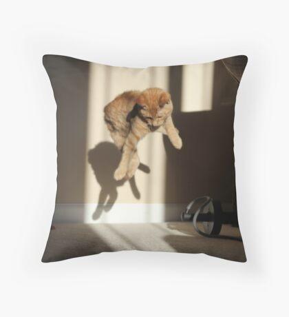 Ruh roh Throw Pillow