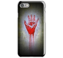 """""""Red Hand"""" iPhone Case/Skin"""