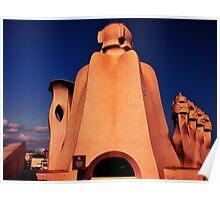 "Roof of ""LA PADRERA""  Poster"