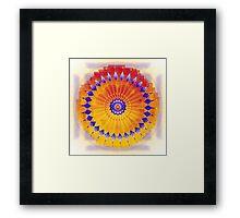 Mandala PREMA Framed Print