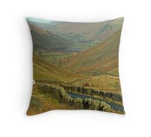Brotherswater from the Kirkstone Pass Throw Pillow