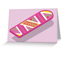 Back to the Future Hoverboard (floating) Greeting Card