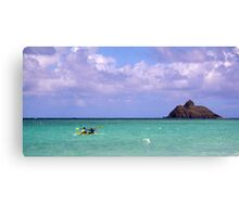 Water Sports in Hawaii Canvas Print