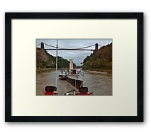 Tow down the Avon (Sold in aid of Medway Queen restoration) Framed Print