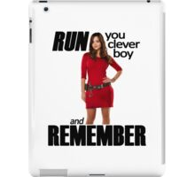 Run, You Clever Boy iPad Case/Skin