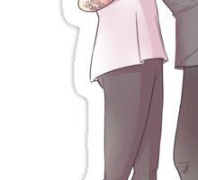 Larry hug Sticker