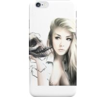 Girl With The Skull iPhone Case/Skin