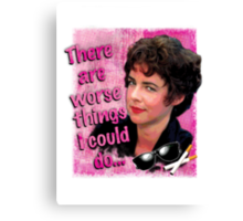 """""""There are worse things i could do Rizzo"""" Grease T-Shirt Print Canvas Print"""