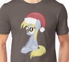 Derpy wearing a Santa Hat Unisex T-Shirt