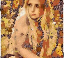 In the style of Klimt by Mary Bassett by esotericaart