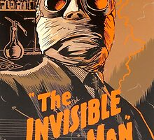 The Invisible Man - Retro by pithypenny