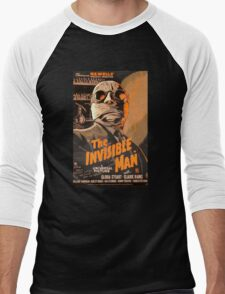 The Invisible Man - Retro Men's Baseball ¾ T-Shirt