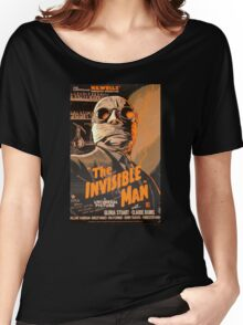 The Invisible Man - Retro Women's Relaxed Fit T-Shirt