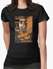 The Invisible Man - Retro Womens Fitted T-Shirt