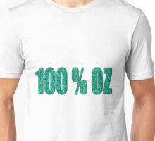 Aqua 100 percent OZ T-Shirt