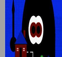 Robot Invasion by JoeCooney