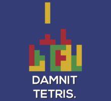 Damnit Tetris by SuperZac