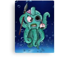 OCTOSPEAR Canvas Print