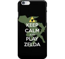 Keep calm and play Zelda! iPhone Case/Skin