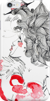 Samantha iPhone Case by Cordell Cordaro