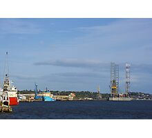 Dundee Harbour Photographic Print