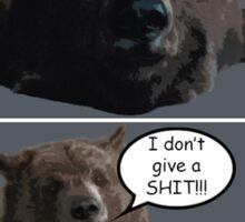 A Comic About a Bear Sticker
