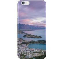 Queenstown Sunset iPhone Case/Skin