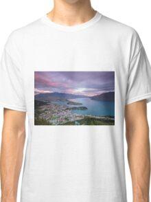 Queenstown Sunset Classic T-Shirt