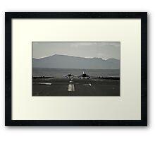 Typhoons Rolling Framed Print