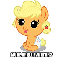 More Apple Fwittur? Photographic Print