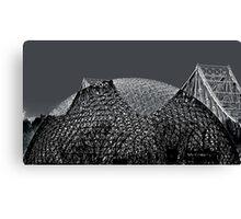 Jacques-Cartier bridge et Biosphere Canvas Print
