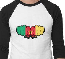 Cameroon Men's Baseball ¾ T-Shirt
