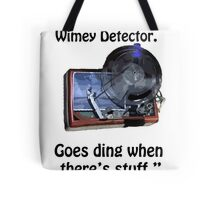 Timey Wimey Detector Tote Bag