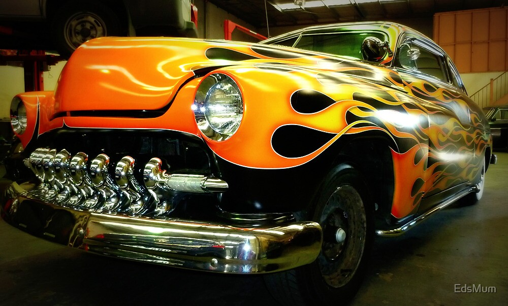 Long Low & Handsome - 1950 Ford Mercury by EdsMum
