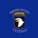 101st Airborne Desert Storm Veteran - iPhone Case by Buckwhite