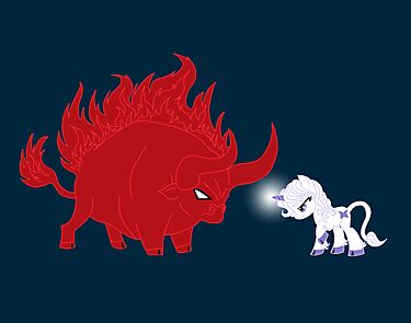 My Little Epic Battle by AriesNamarie