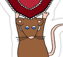 Valentine's Day Heart for Mummy Sticker